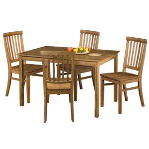 jedálenský stôl 4840 a 4 jedálenské stoličky 4842