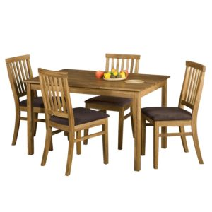jedálenský stôl 4840 a 4 jedálenské stoličky 4843