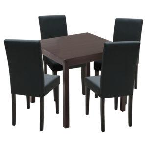 jedálenský stôl 8842H a 4 jedálenské stoličky PRIMA 3034