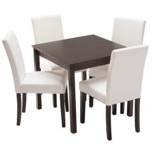 jedálenský stôl 8842H a 4 jedálenské stoličky PRIMA 3036