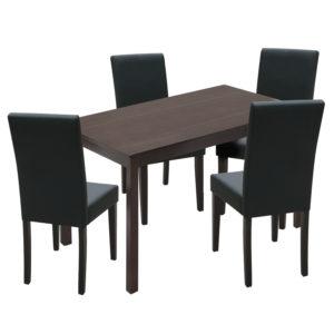 jedálenský stôl 8848H a 4 jedálenské stoličky PRIMA 3034