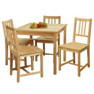 jedálenský stôl 7842 a 4 jedálenské stoličky 769