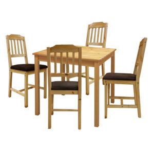 jedálenský stôl 8842 a 4 jedálenské stoličky 8868