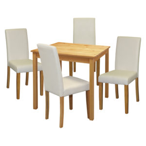 jedálenský stôl 8842 a 4 jedálenské stoličky PRIMA 3037
