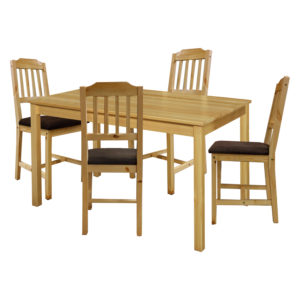 jedálenský stôl 8848 a 4 jedálenské stoličky 8868