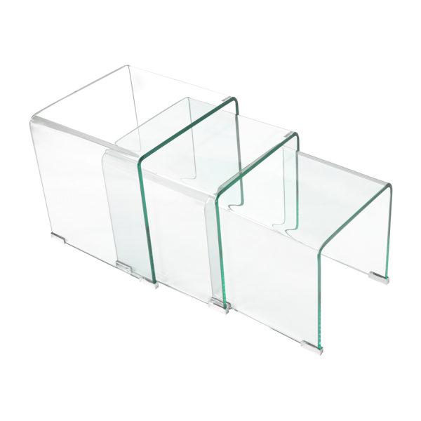 materiál číre sklo