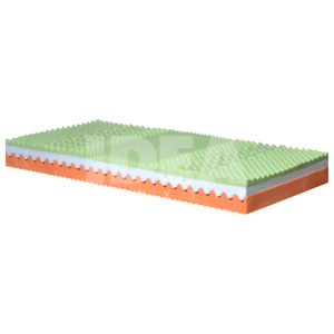 sendvičový matrac tvorený viscoelastickou pamäťovou penou Viscofoam