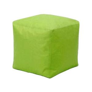 sedací vak v tvare kocky
